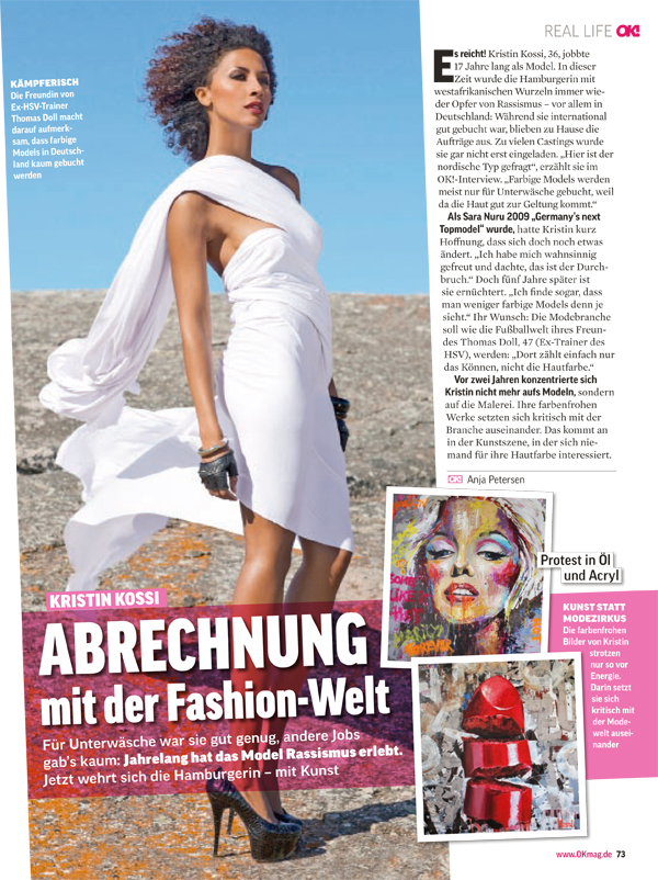 OK!Magazine Kristin Kossi