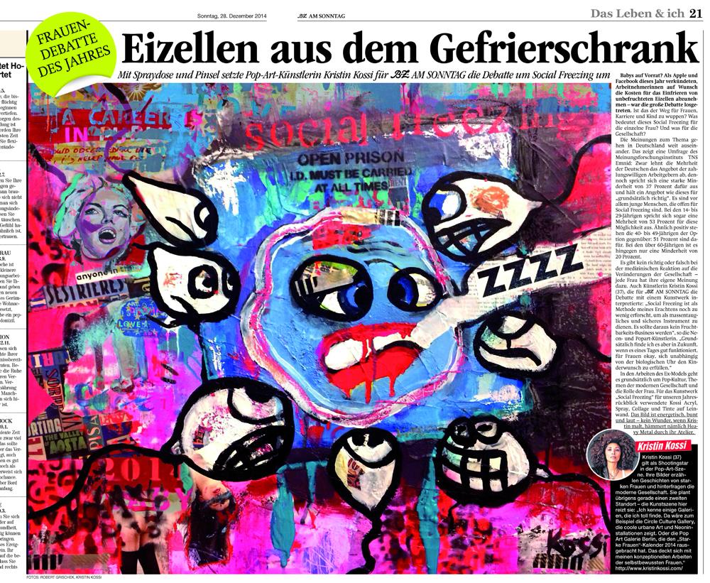 Social Freezing-berliner zeitung-kristin-kossi-presse