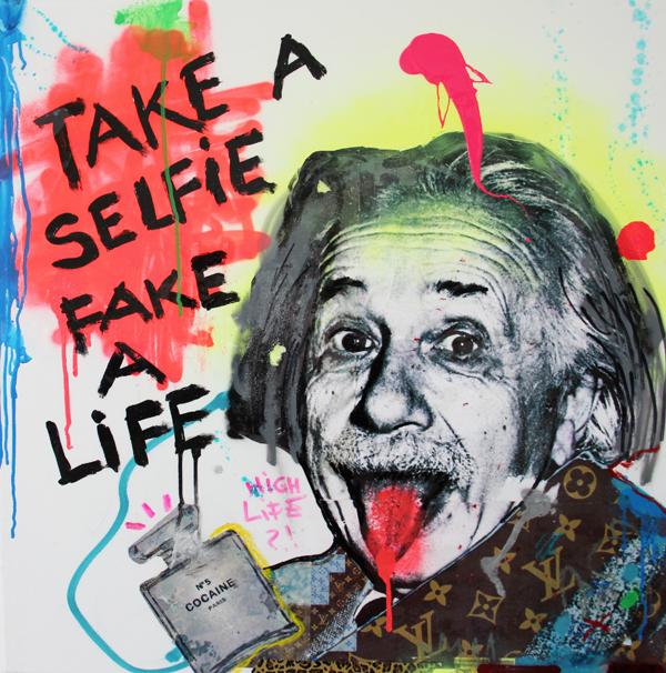 Einstein-Selfie